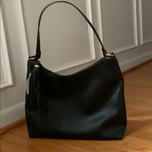 🌺 NWT &M Black Large Hobo Bag